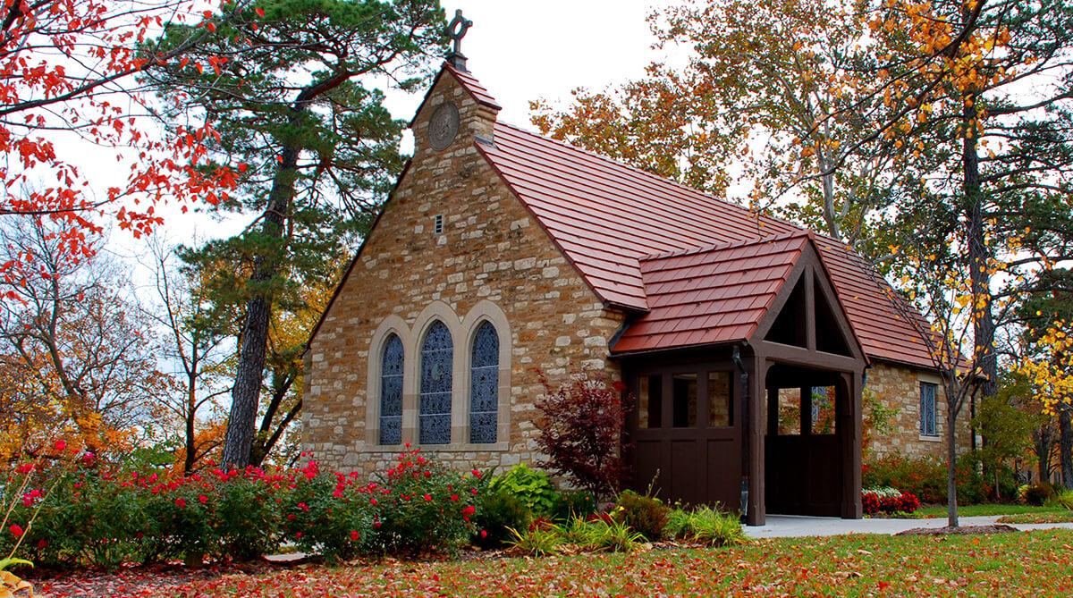 Danforth Chapel at The University of Kansas in Lawrence, Kansas