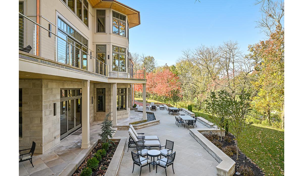 Prairie-Style Contemporary Exterior Terraces